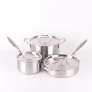 Agniers High Quality 6PCs Cookware Set