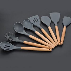 8PCs Set of Silicone Cooking Utensils